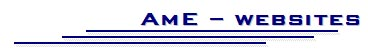 AME-websites Logo